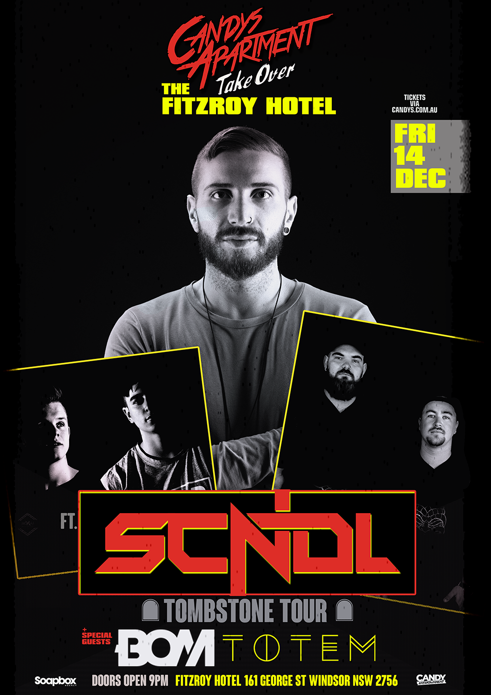 Candys Takeover the Fitzroy Hotel ft. SCNDL