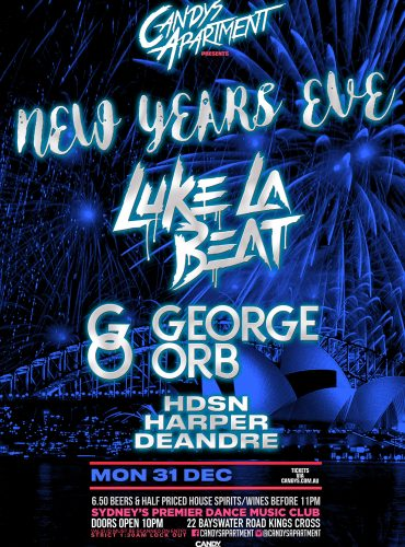 Candys Apartment NYE ft. Luke la Beat and George Orb