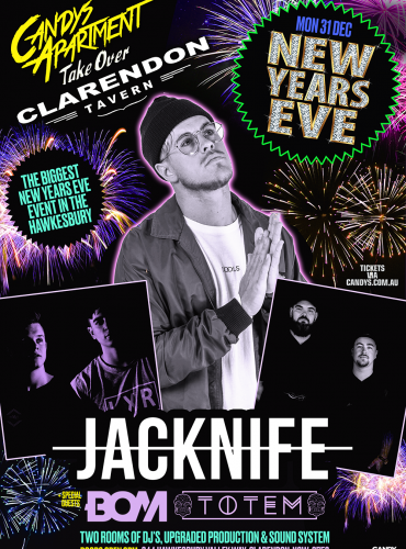 Candys Takeover NYE at the Clarendon Tavern ft. Jacknife
