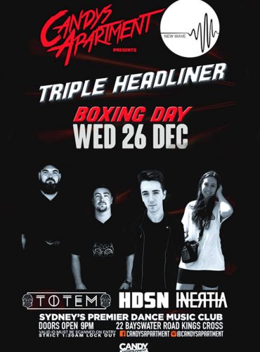 New Wave Xmas Party ft. Totem, HDSN and INERTIA
