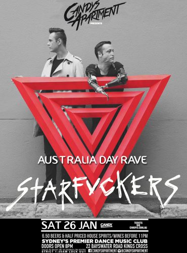 Candys Apartment Australia Day Rave ft. Starfvckers