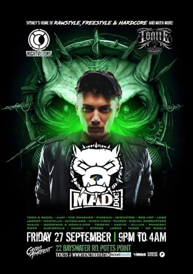 Nightvisions & Ignite Pres Mad Dog The Prequel