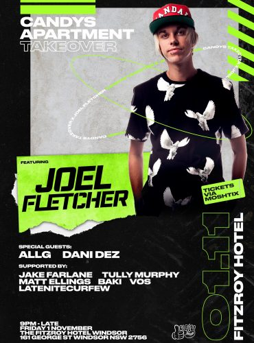 Candys Takeover the Fitzroy Hotel ft. Joel Fletcher
