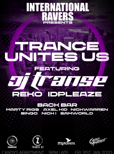 International Ravers Pres. Trance Unites Us ft Jason Transe