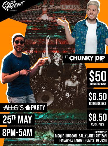 Candys Apartment Presents AllG's House Party ft. Chunky Dip