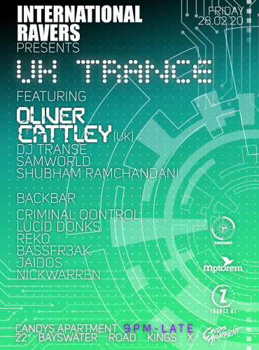 International Ravers Pres. UK Trance ft. Oliver Cattley
