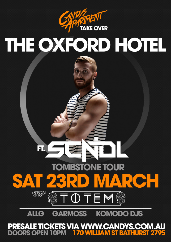 Candys Apartment Takeover The Oxford Hotel Bathurst ft. SCNDL