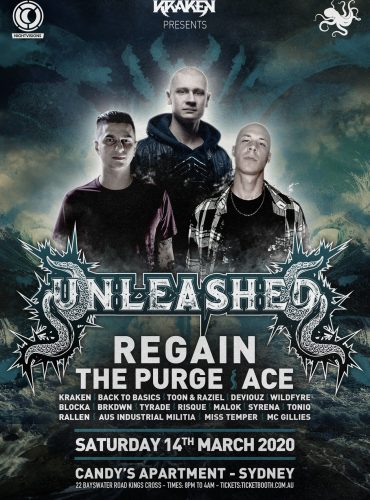 Kraken Presents: Unleashed Ft Regain, The Purge & Ace